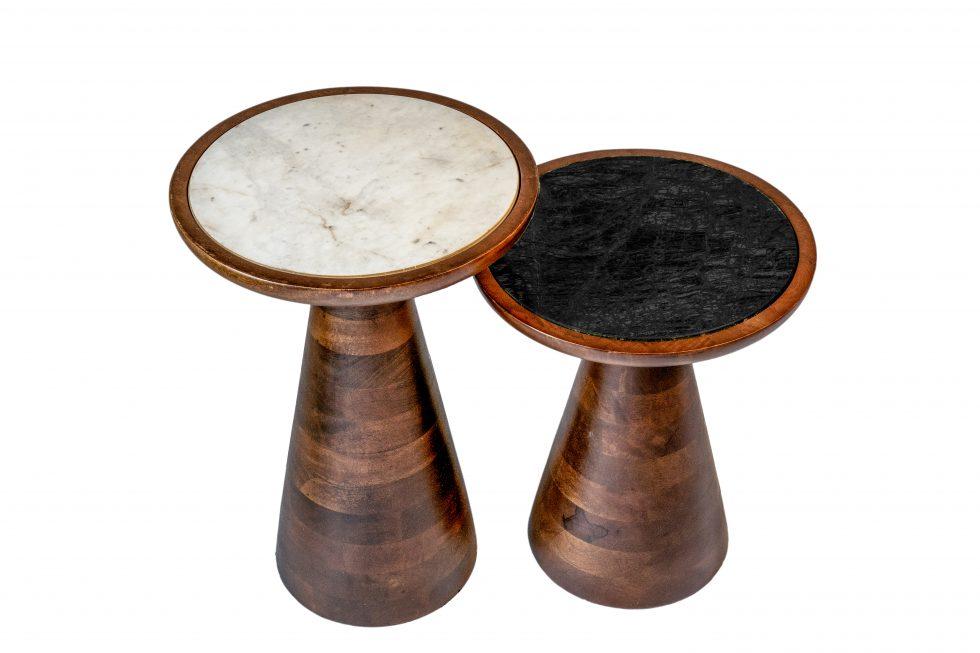 Outstanding Penny Table In White And Black Marble Simpler Pr Image Bank Inzonedesignstudio Interior Chair Design Inzonedesignstudiocom